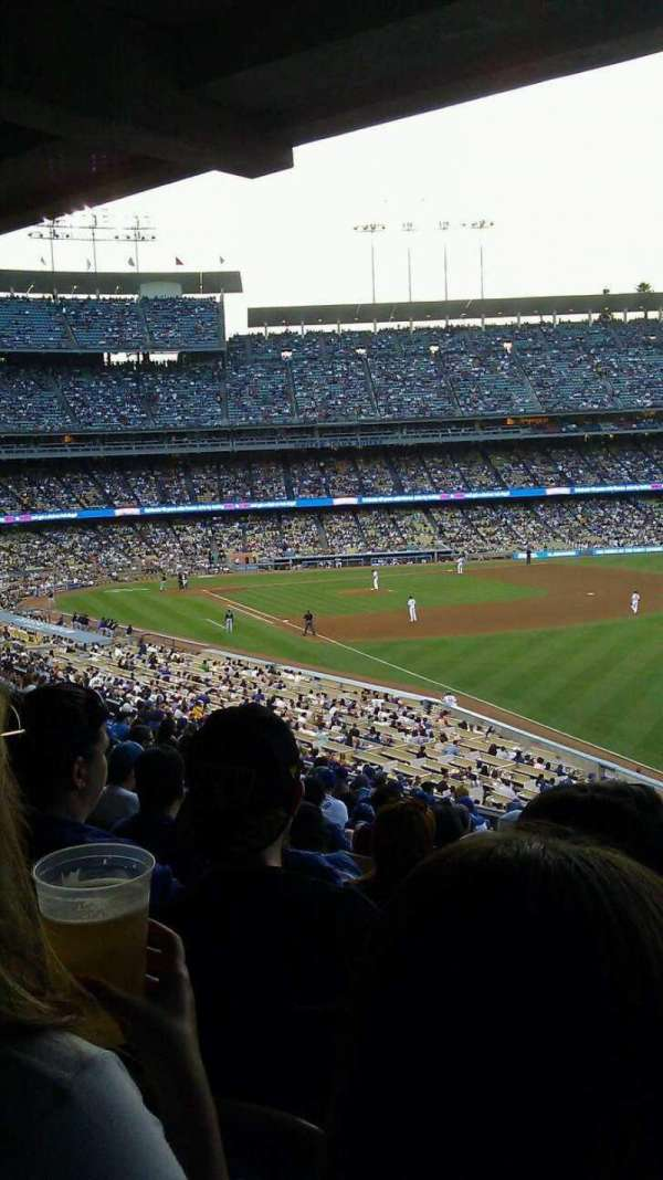 Dodger Stadium, section: 162LG, row: S, seat: 8