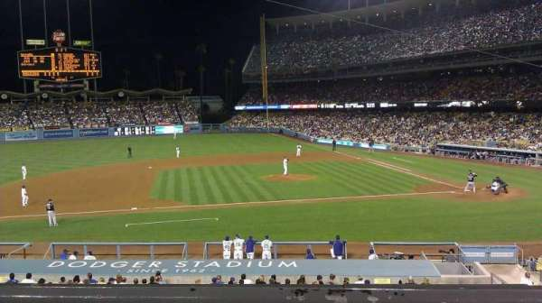 Dodger Stadium, section: 131LG, row: B, seat: 3