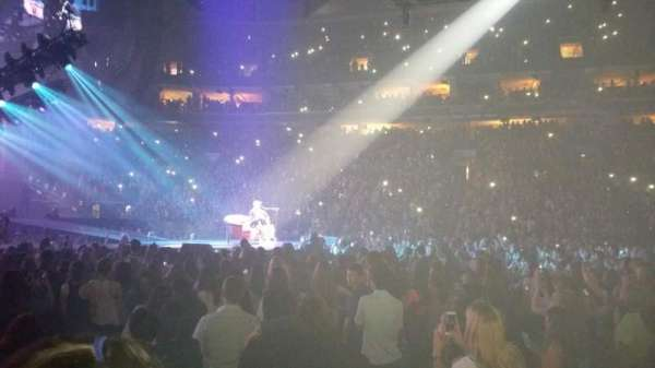 Wells Fargo Center, section: 101, row: 2, seat: 4
