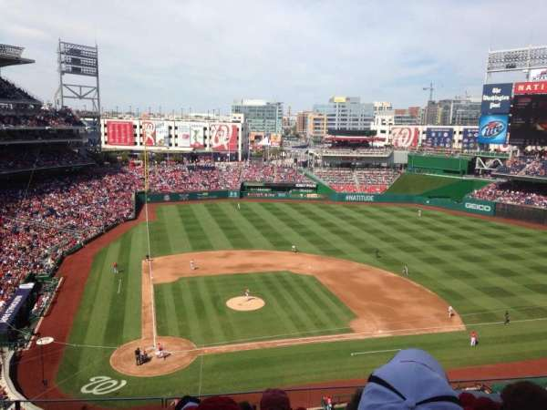 Nationals Park, section: 317, row: F, seat: 11