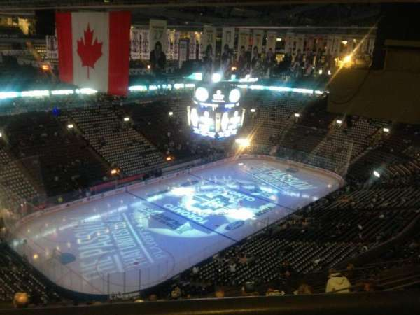 Scotiabank Arena, section: 312, row: 1, seat: 20