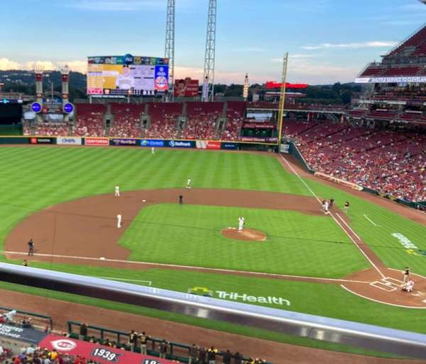 Great American Ball Park, section: 418, row: A, seat: 9