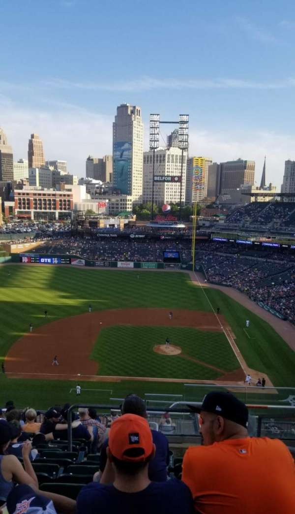 Comerica Park , section: 333, row: 11, seat: 2