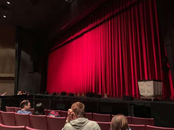 Redondo Beach Performing Arts Center, section: Front Orchestra, row: E, seat: 2