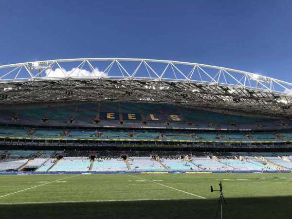 ANZ Stadium, section: Aisle 128, row: B, seat: 40