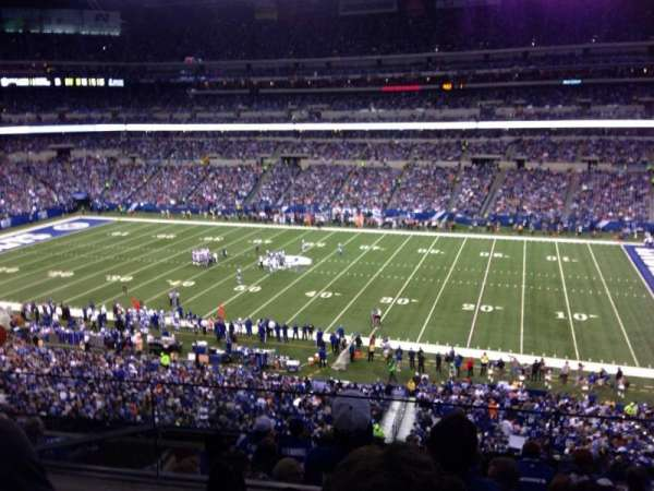Lucas Oil Stadium, section: 437, row: 2, seat: 16
