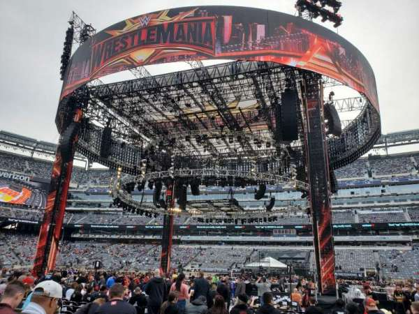 MetLife Stadium , section: F112, row: O, seat: 14