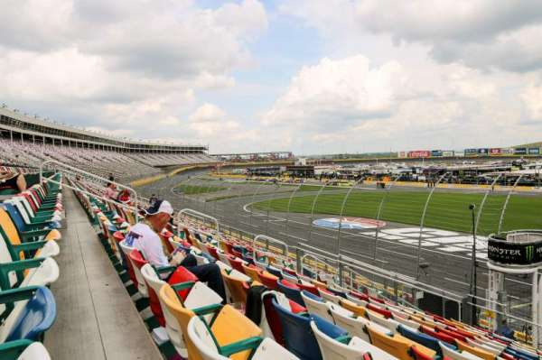 Charlotte Motor Speedway, section: General Motors E, row: 16, seat: 25