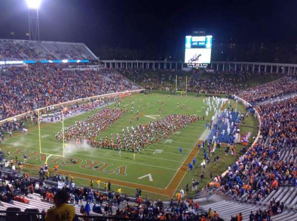 Lane Stadium, section: 201
