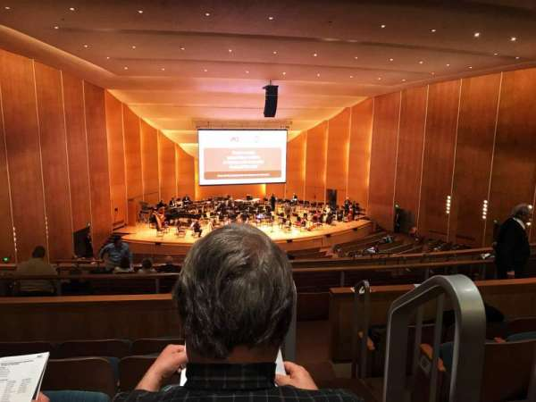 Kleinhans Music Hall, section: Middle balcony, row: K, seat: 19