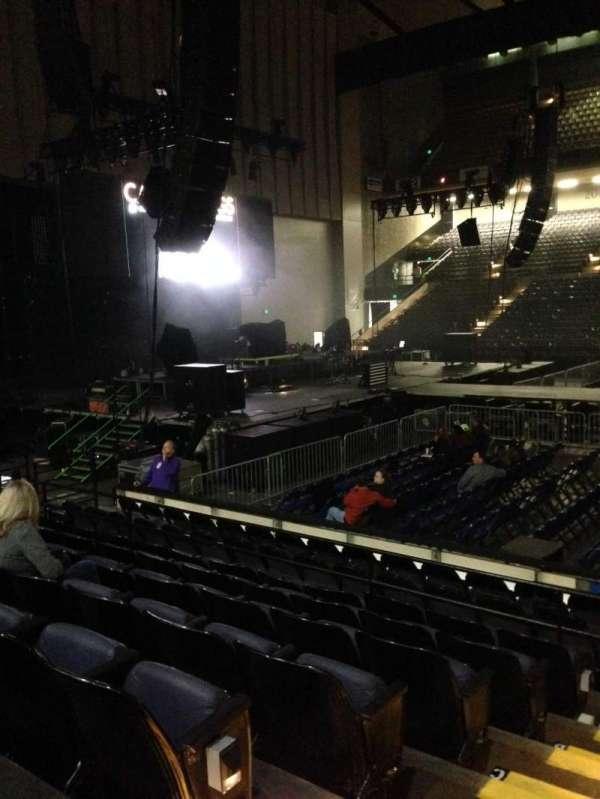Royal Farms Arena, section: 107, row: G, seat: 14