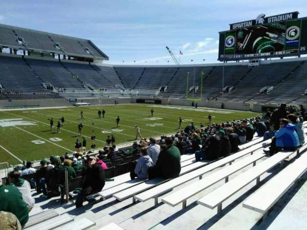 Spartan Stadium, section: 24, row: 20, seat: 23
