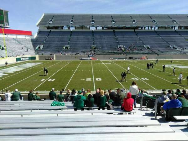 Spartan Stadium, section: 25, row: 19, seat: 23