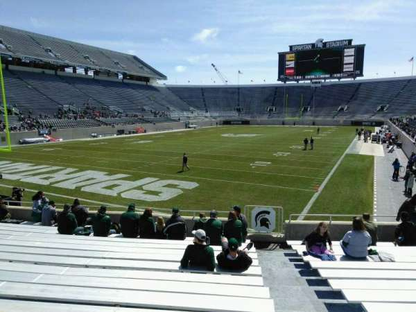 Spartan Stadium, section: 29, row: 17, seat: 38