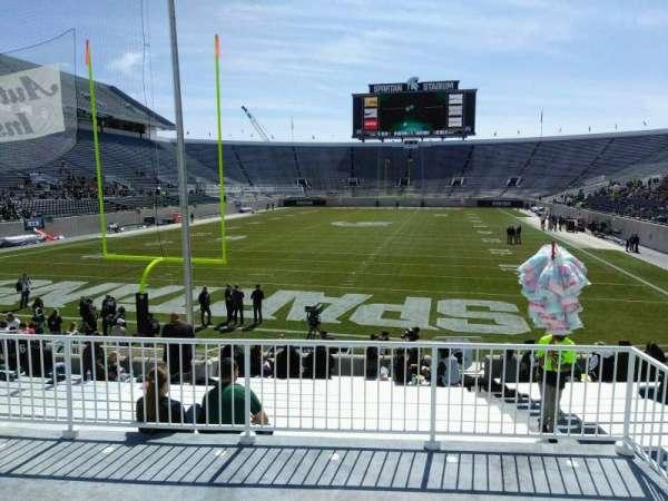 Spartan Stadium, section: 30, row: 19, seat: 42