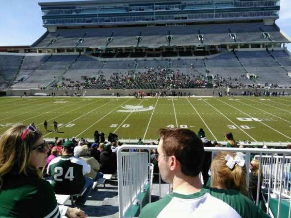 Spartan Stadium, section: 8, row: 29, seat: 19