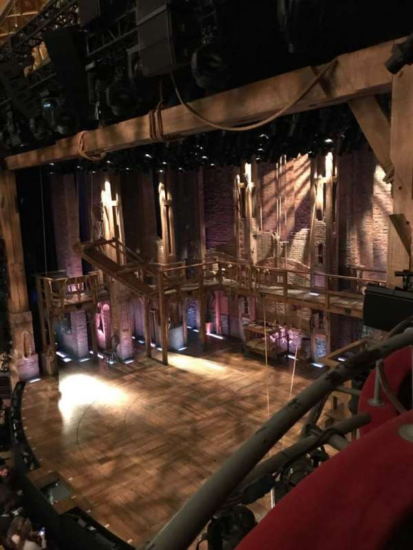 Richard Rodgers Theatre, section: Box H, row: 1 , seat: 3