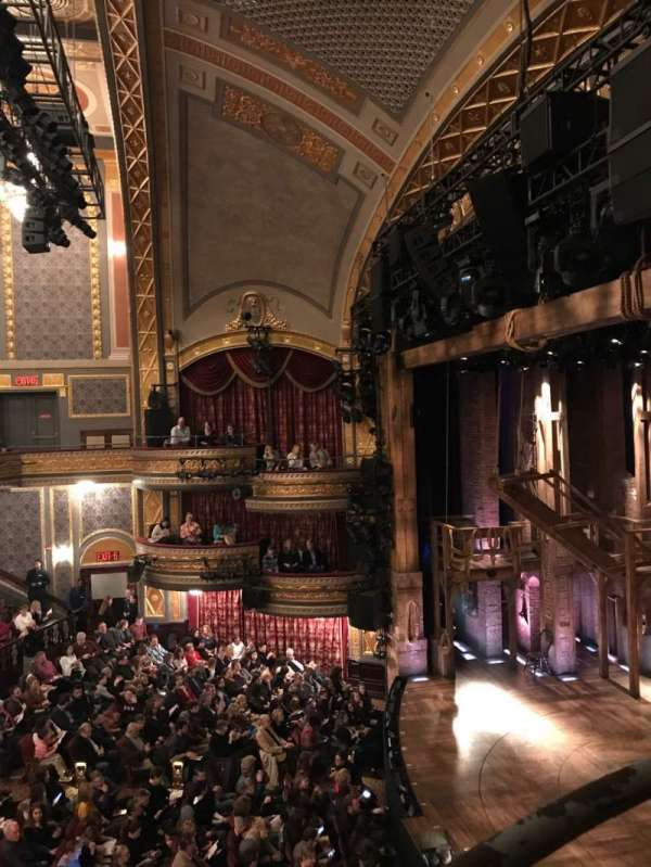 Richard Rodgers Theatre, section: Box E, row: 1, seat: 1-3