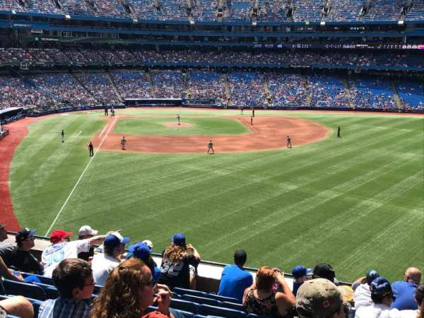 Rogers Centre, section: 208L, row: 9, seat: 107
