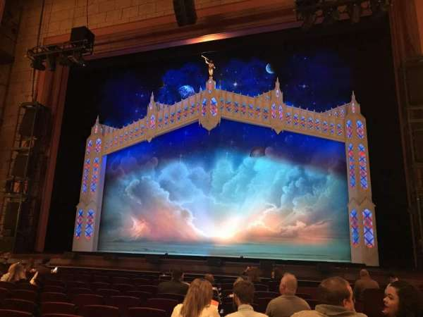 Walt Disney Theatre - Dr. Phillips Center, section: Orchestra Center, row: J, seat: 121