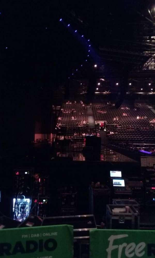 Genting Arena, section: Block 17, row: B, seat: 526