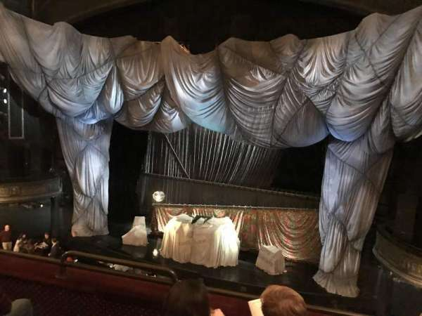 Majestic Theatre, section: Front mezzanine R, row: C, seat: 4