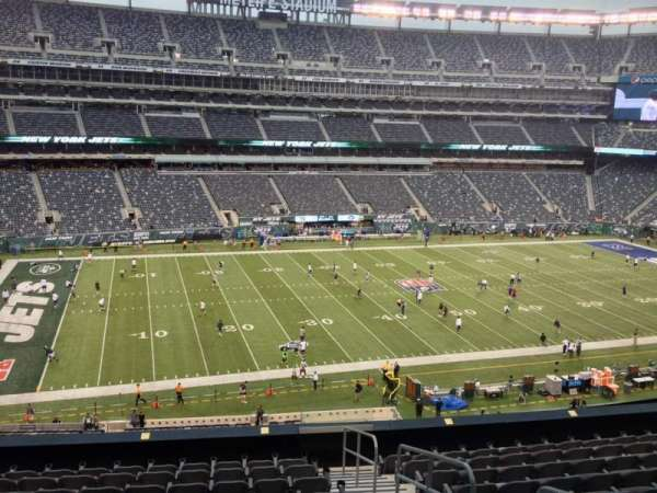 MetLife Stadium, section: 217, row: 11, seat: 1