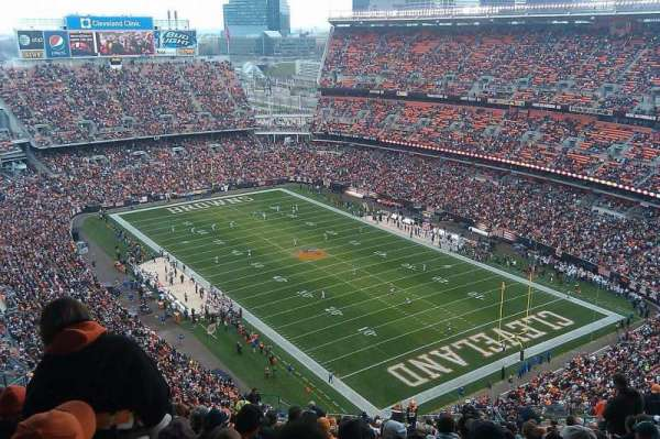 FirstEnergy Stadium, section: 542, row: 31, seat: 10