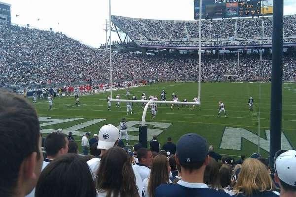Beaver Stadium, section: SE, row: 11, seat: 8