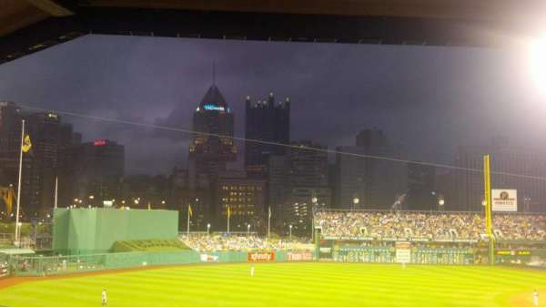 PNC Park, section: 129, row: GG, seat: 7