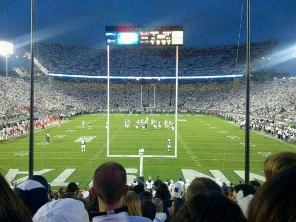 Beaver Stadium, section: SE, row: 28, seat: 22