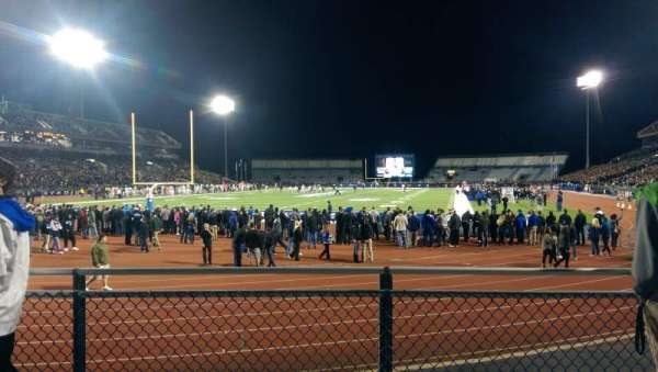 UB Stadium, section: 135, row: B, seat: 1