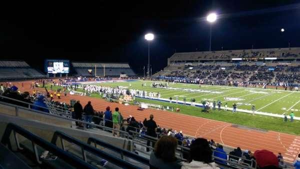 UB Stadium, section: 203, row: E, seat: 1