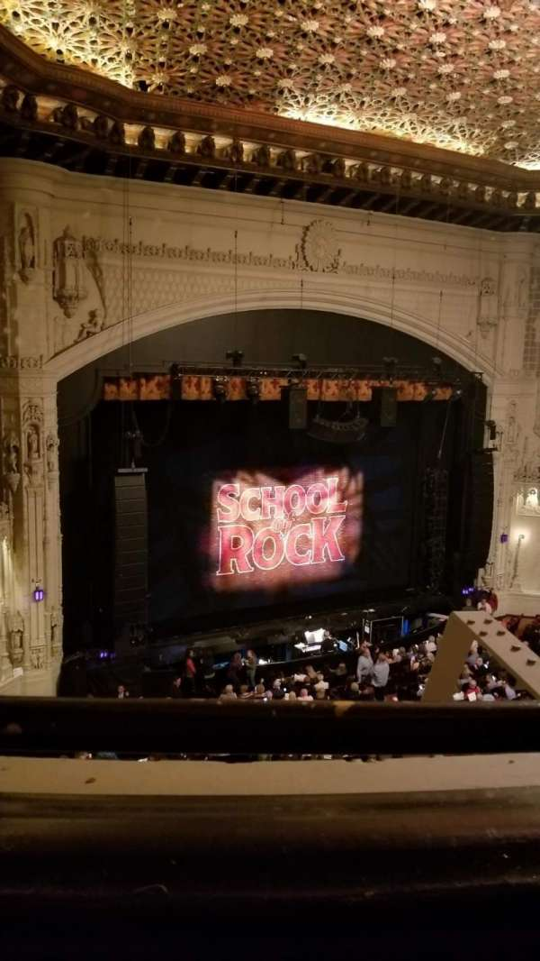 Orpheum Theatre (San Francisco), section: Balcony L, row: A, seat: 9