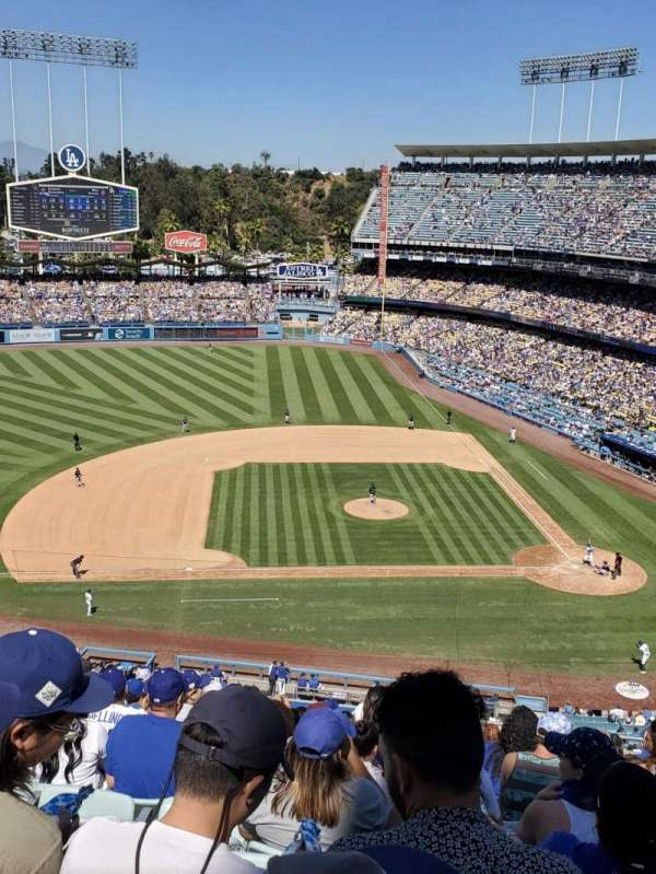 Dodger Stadium, section: 15RS, row: N, seat: 9