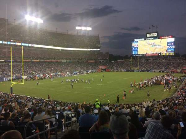 Nissan Stadium, section: 119, row: GG, seat: 20