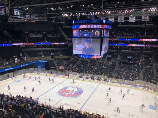 Barclays Center, section: 223, row: 2, seat: 1