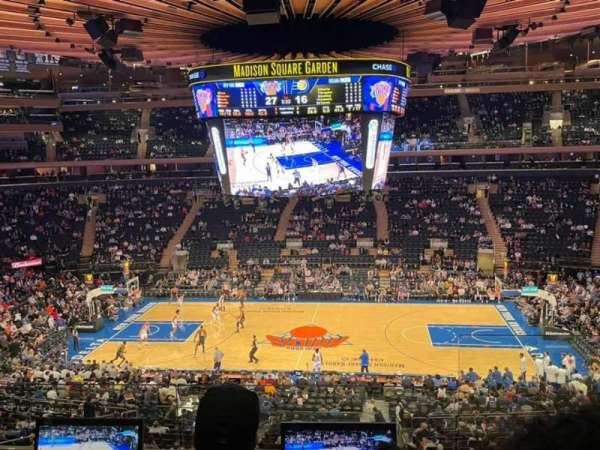 Madison Square Garden, section: 211, row: 3, seat: 22