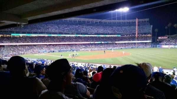 Dodger Stadium, section: 38FD, row: W, seat: 7