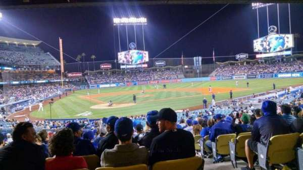 Dodger Stadium, section: 6FD, row: W, seat: 12