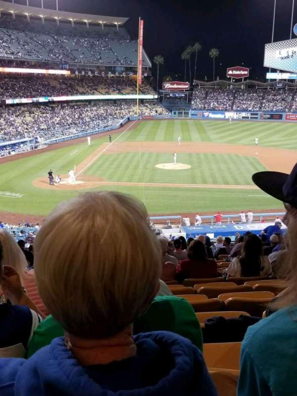 Dodger Stadium, section: 126LG, row: S, seat: 2