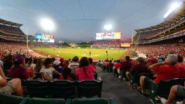 Angel Stadium, section: F117, row: T, seat: 9