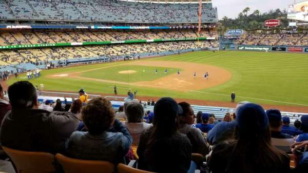 Dodger Stadium, section: 144LG, row: P, seat: 4