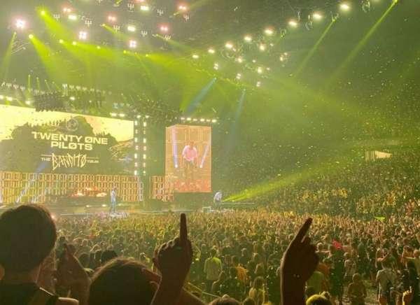 Van Andel Arena, section: 107, row: F, seat: 17