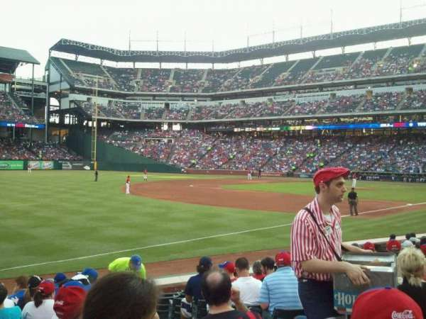 Globe Life Park in Arlington, section: 14, row: 11, seat: 15