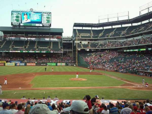 Globe Life Park in Arlington, section: 19, row: 24, seat: 15