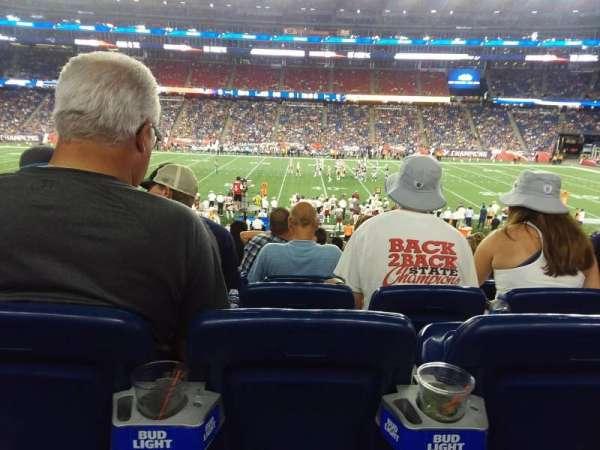 Gillette Stadium, section: 131, row: 26, seat: 10