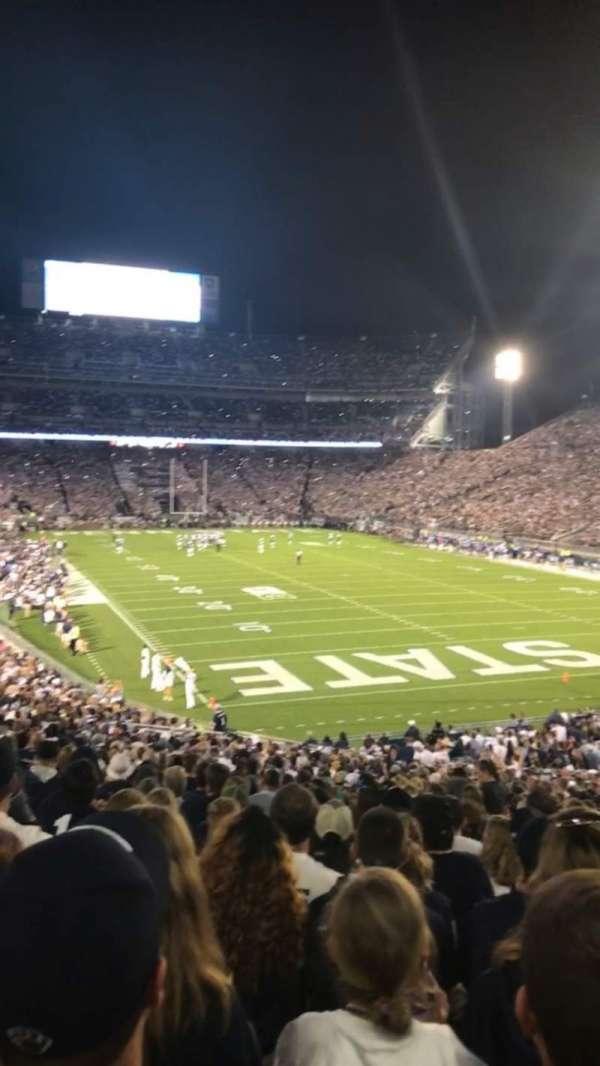 Beaver Stadium, section: NJ, row: 42, seat: 5
