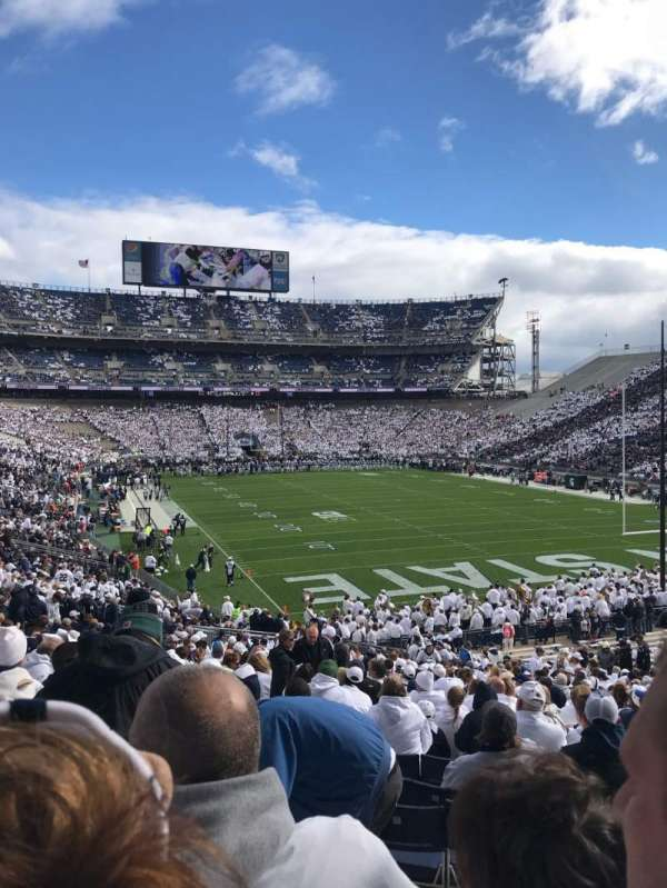 Beaver Stadium, section: NJ, row: 42, seat: 11