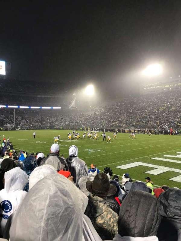 Beaver Stadium, section: NL, row: 12, seat: 10